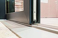 black-close-up-door